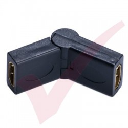 HDMI Female - HDMI Female Swivel Adapter