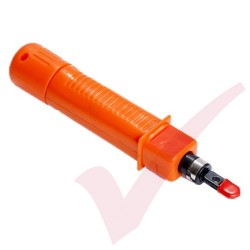 Adjustable Impact Punch Down Tool - Orange