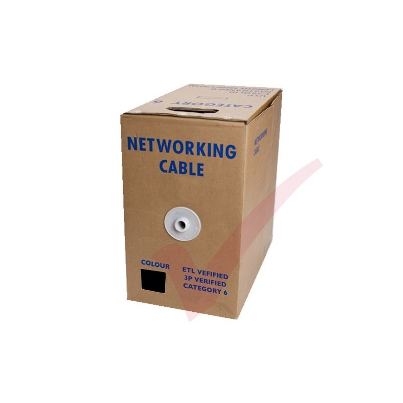 Solid Cat6 F Utp Bulk External Pe Cable