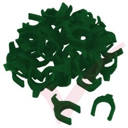 Patchsee Dark Green VS/PC Removable PatchClip 50x Pack