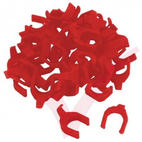 Patchsee Red RO/PC Removable PatchClip 50x Pack