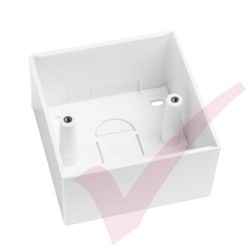 Single Back Box 45mm Deep