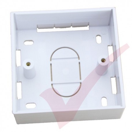 Single Gang PVC Back Box, 32mm Depth