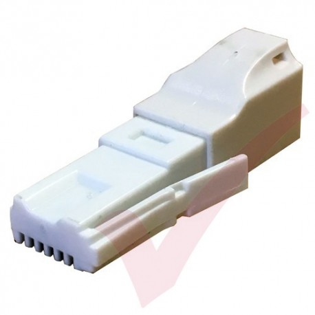 BT Plug - RJ11 Slimline Socket Cross Over Adapter