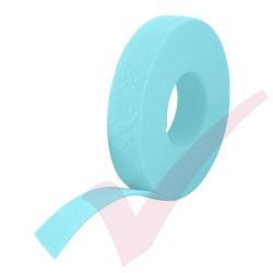25 Metre Aqua Velcro Reel Hook & Loop
