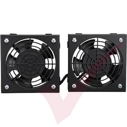 2 Way Fan Unit for Wall Mount Cabinets (1m Lead)