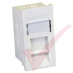 Excel Cat5e RJ45 UTP Module White 100-700