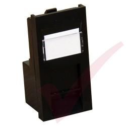 Excel Cat5e RJ45 UTP Low Profile Module Black