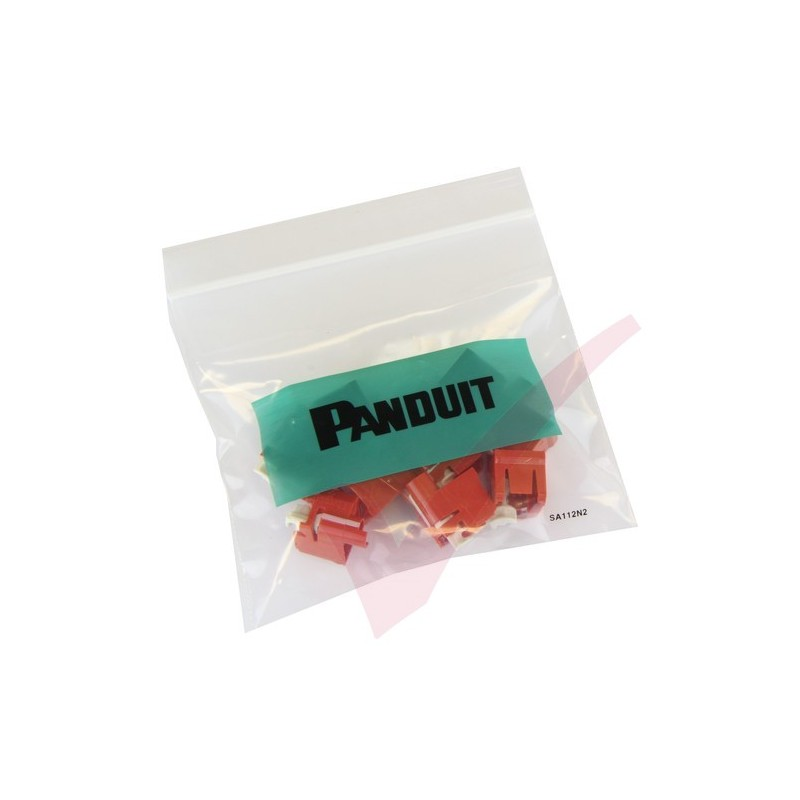 panduit rj45 lock in plug inserts removal tool red Network Lock Receptacle panduit rj45 lock in device 10 patch lead locks and removal tool in red