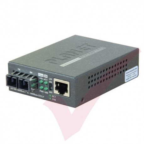 Planet 10/100/1000Base-T to 1000-SX SC Multimode - GT802UK