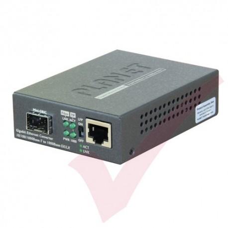 Planet 10/100/1000-1000SX GBIC Converter - GTP805A