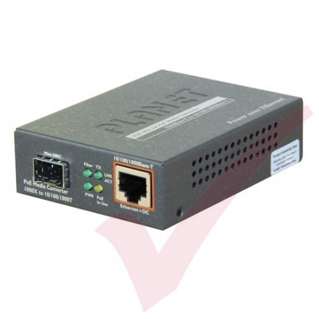 Planet 10/100/1000-1000SX GBIC Converter - GTP805A