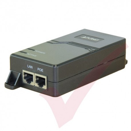 Planet 10/100/1000Mbps Ultra POE Injector (60 Watts) Internal Power - POE173