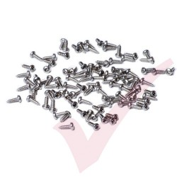 200x LC/SC A2 Stainless Screws for Adapter to Panel Fixing