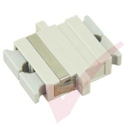 SC Duplex Multimode Fibre Optic Adapter