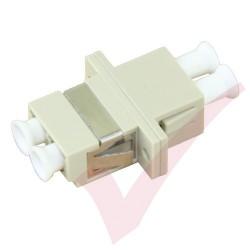 LC Duplex Multimode Fibre Optic Adapter