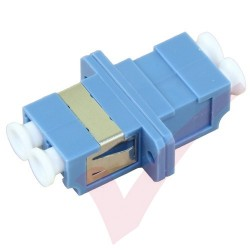 LC Duplex Singlemode Fibre Optic Adapter