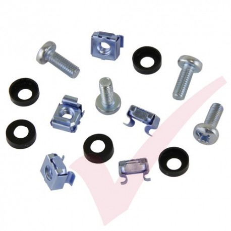 M6 Cage Nuts & Screws (bag of 50)