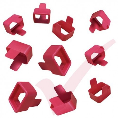 Secure Sleeve C20 into C19 Tab Red - 10 Pack
