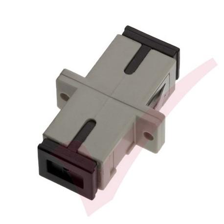 SC Simplex Multimode Fibre Optic Adaptor