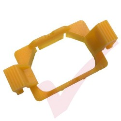 C13 PDU Outlet Lock Yellow - 10 Pack