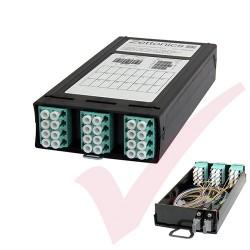 Zettonics TEN21 LC OM4 Multimode 24 Fibre MTP/MPO Cassette