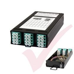 Zettonics MTP/MPO LC OM4 Multimode 12 Duplex Fibre Cassette