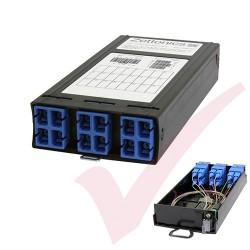 Zettonics MTP/MPO SC OS2 Singlemode 6 Duplex Fibre Cassette (Polarity A/C)