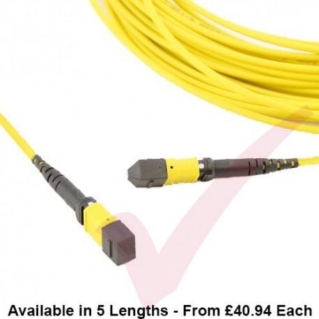 OS2 MTP - MTP Type B 12 Core MPO Pre-terminated Fibre Trunk Cassette Cable