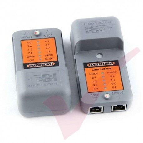 Quintest Structured Cabling Tester for UTP and STP Systems