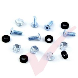 M6 Cage Nuts & Screws (bag of 50) Fast Fit