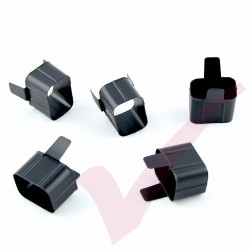 5 Pack Black - Power Cord Contact Retention Sleeve for IEC C19  (connect to C20 Inlet)