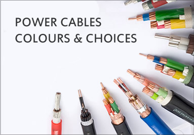 Power Cables Colours & Choices